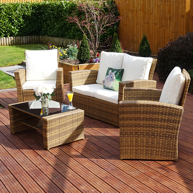 Set of rattan garden furniture blog