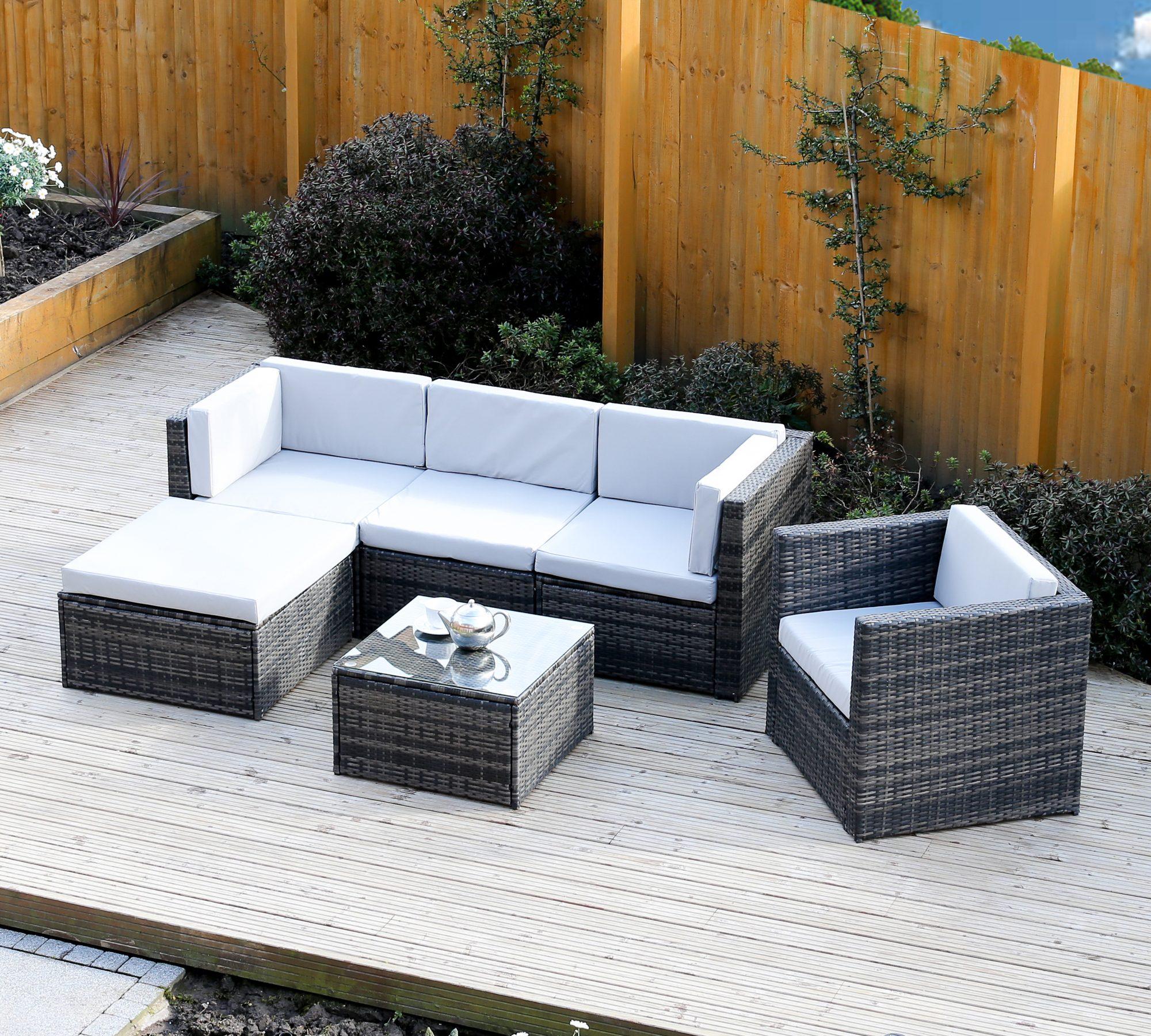 Rattan Corner Sofa Abreo: The Rattan Garden Furniture Blog